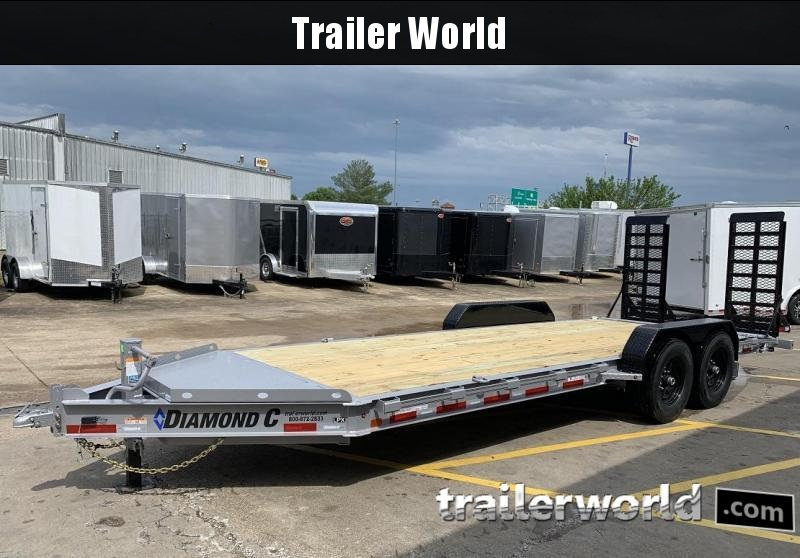 2020 Diamond C LPX 20' Equipment Trailer