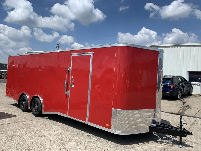 2020 CW 24' Spread Axle Car Trailer 10k GVWR 7' tall