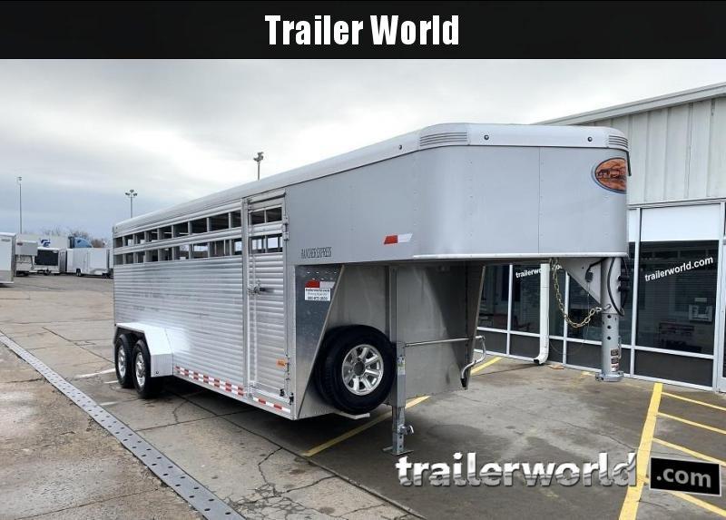 2017 Sundowner Trailers Rancher Aluminum 20 Livestock Trailer