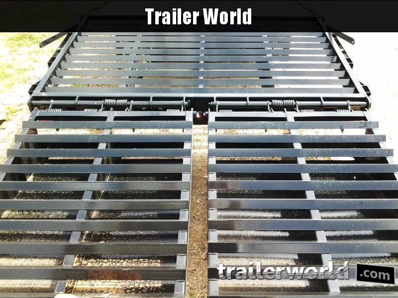 2020 Big Tex Trailers 22GN-28' + 5' Gooseneck Flatbed Trailer MEGA RAMPS