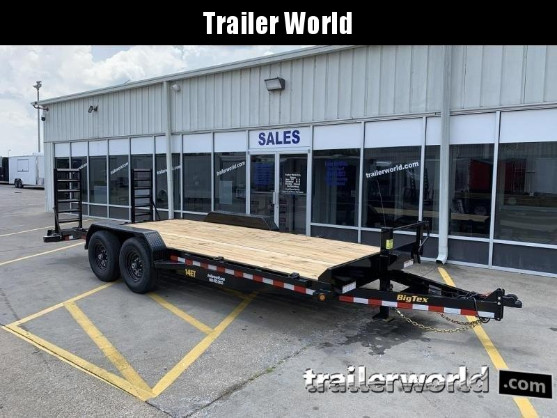 2020 Big Tex 14ET-20'  Flatbed Equipment Trailer  7 Ton