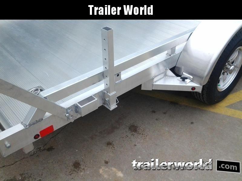 2021 Aluma 7814R 14'  Aluminum Open Utility Trailer