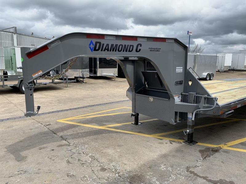 2020 Diamond C FMAX210 27' + 5' Gooseneck Trailer 25K GVWR