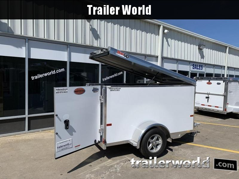 2020 Sundowner 4' x 8' MINI GO Enclosed Aluminum Cargo Trailer