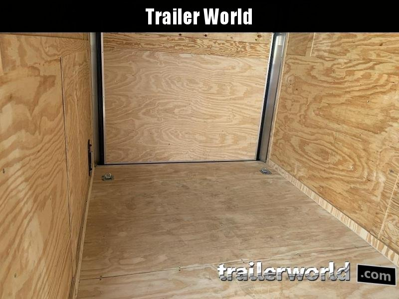 2020 CW 7' x 14' x 6.5' Vnose Enclosed Trailer Black Out