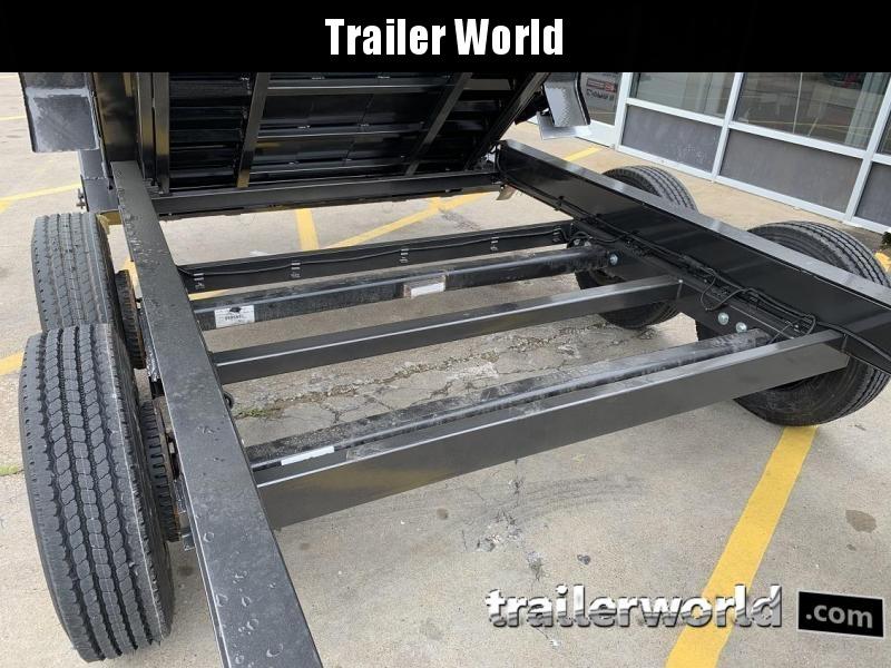 2020 Diamond C LPT 16' SUPER Gooseneck Dump Trailer Low Profile Commercial Grade 20k GVWR
