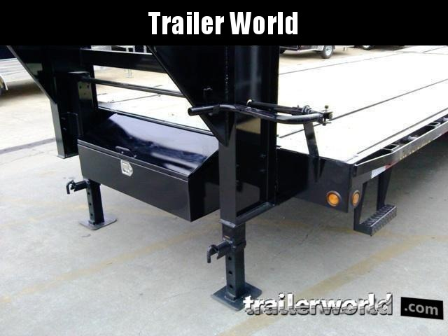 2020 Big Tex Trailers 14GN-28' + 5' Flatbed Equipment Trailer MEGA RAMPS