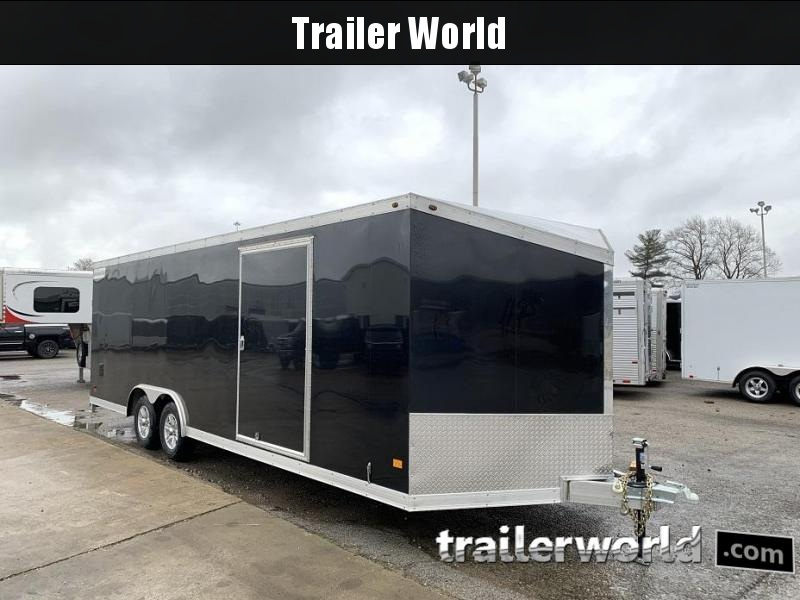 2019 Haulmark 24' Aluminum Enclosed Car Trailer - CLEARANCE