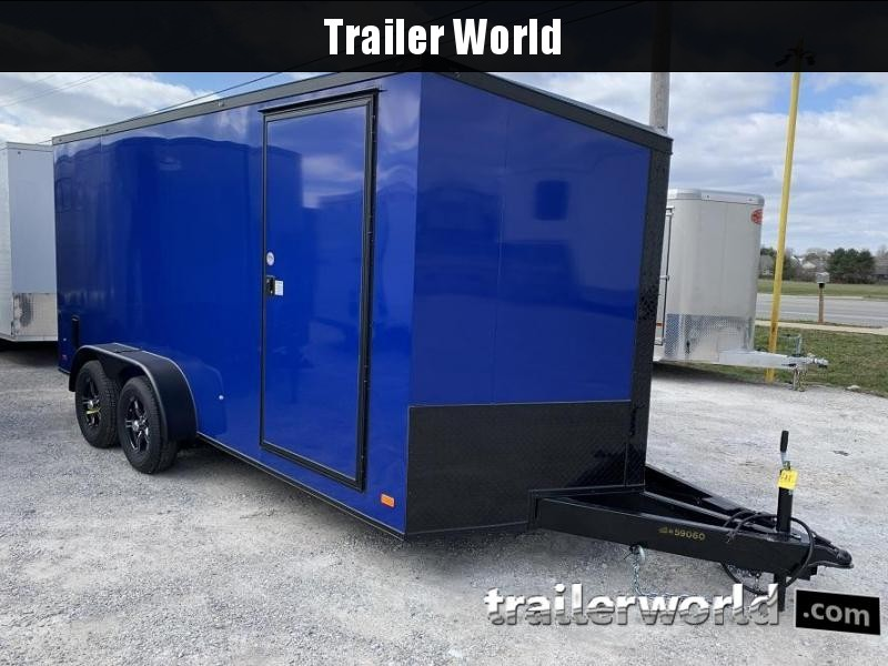 2020 CW 7' x 16' x 7'  Enclosed Cargo Trailer BLACK OUT