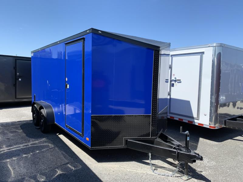 2020 CW 7' x 16' x 6.5'  Enclosed Cargo Trailer BLACK OUT