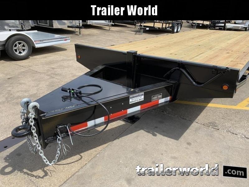 2020 Better Built 20' + 5'  10 Ton Pintle Hitch Equipment Trailer