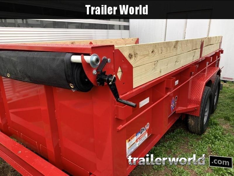 2020 Diamond C LPD 14' Dump Trailer Low Profile Commercial Grade