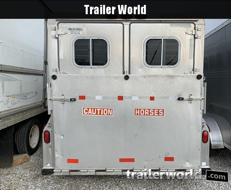 1997 4-Star Trailers Slant Load 6 Horse Trailer