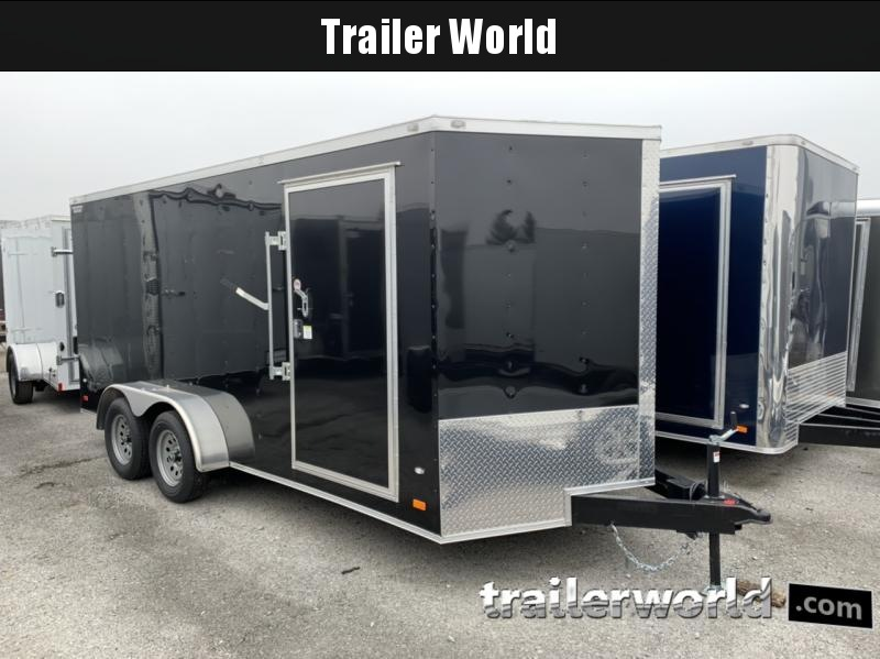 2019 CW 7' x 16' x 6.5' Vnose Enclosed Cargo Trailer