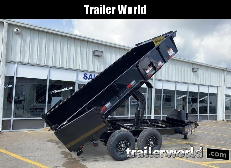 2020 Big Tex Trailers 14LP-16' Low Profile Dump Trailer w/ TARP