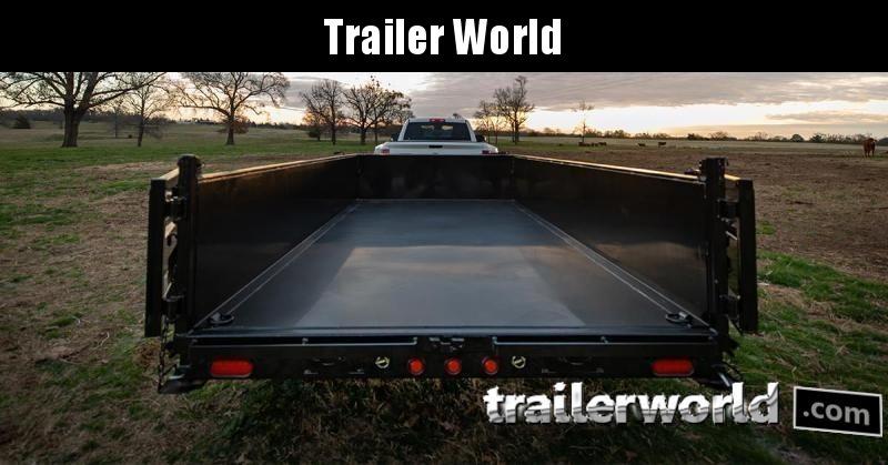 2020 Big Tex Trailers 14LP-16' Low Profile Dump Trailer w/ TARP