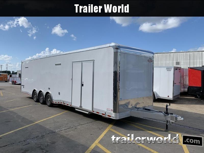 2020 Cargo Mate ALUMINUM Eliminator 34' Race Trailer Bath Pkg