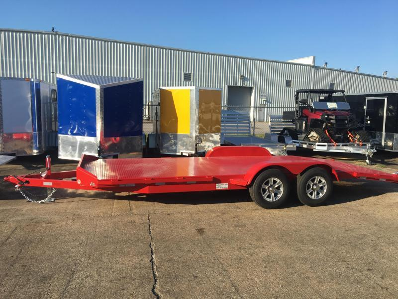 2020 Sure-Trac 20' Steel Deck Open Car Hauler Trailer 10k GVWR