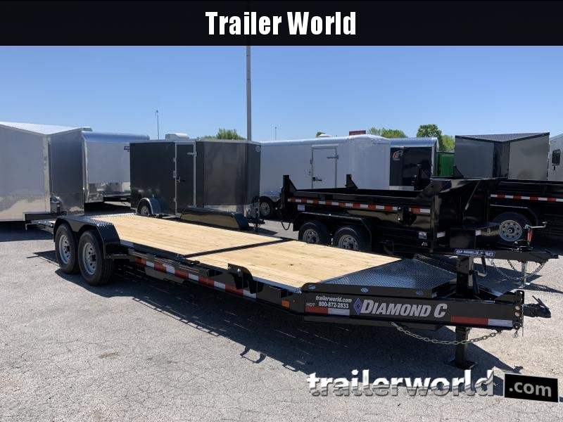 2020 Diamond C HDT 22' w/ 16' Tilt-Bed Equipment Trailer 7 Ton