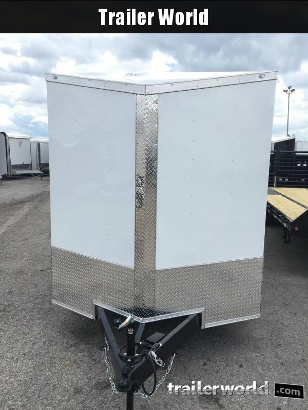 2020 CW 7' x 16' x 7' Vnose Enclosed Cargo Trailer Ramp Door