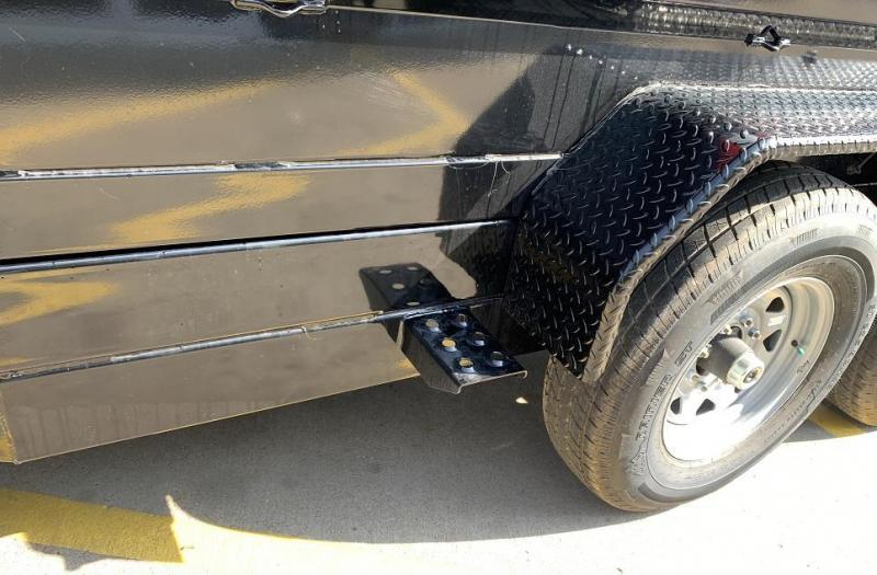 2020 Sure-Trac 14' Dual Ramp Dump Trailer w/ Tarp Kit 14k GVWR