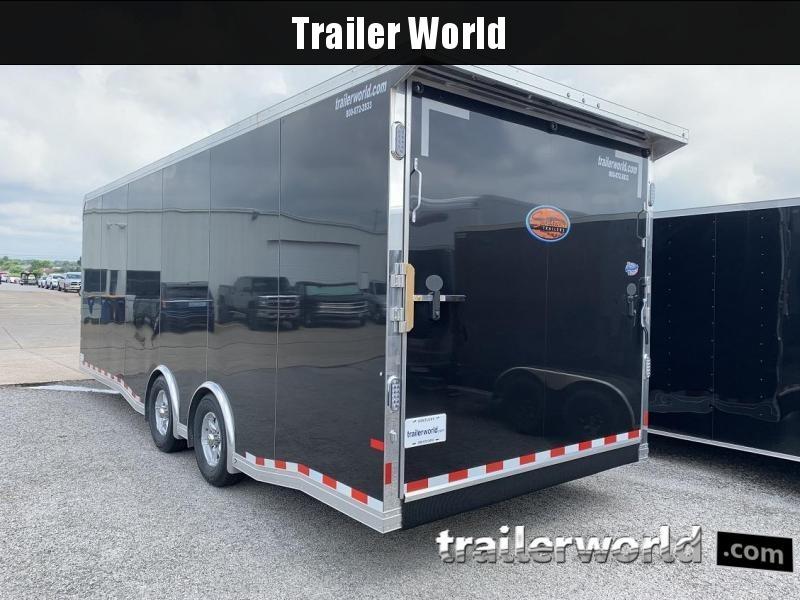 2020 Sundowner 24' x 7.5' Tall Spread Axle Car Aluminum Race Trailer