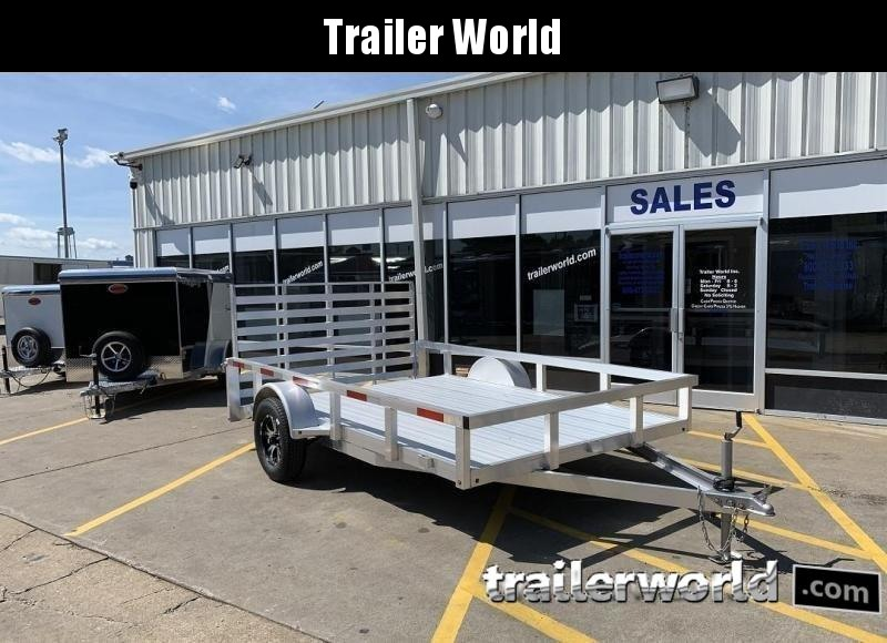 2019 Trailer World Aluminum 14' Utility Trailer