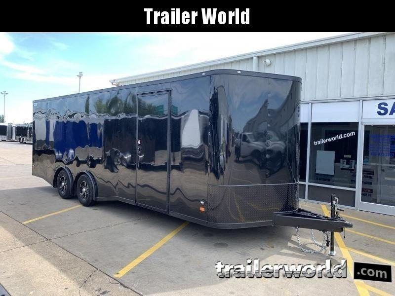 2020 CW 24' Enclosed Car Trailer Spread Axle 10k GVWR