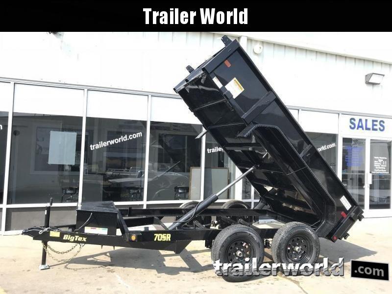 2020 Big Tex Trailers 70SR-10' x 5' Dump Trailer
