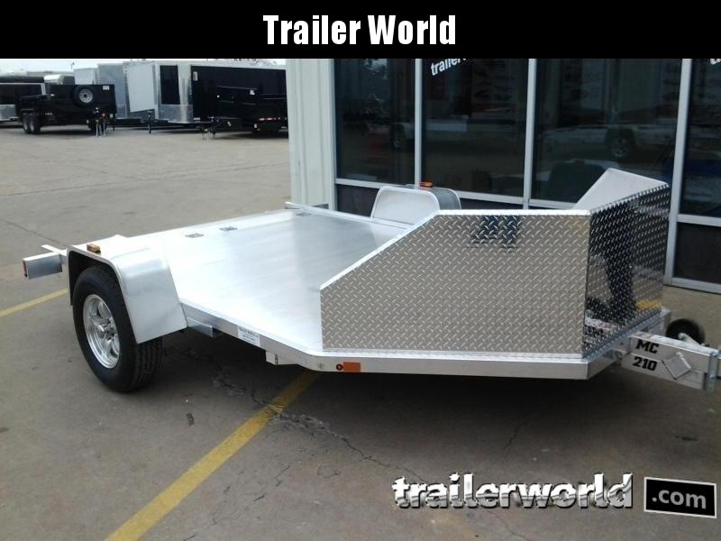 2020 Aluma MC210 Aluminum 2 Place Motorcycle Trailer