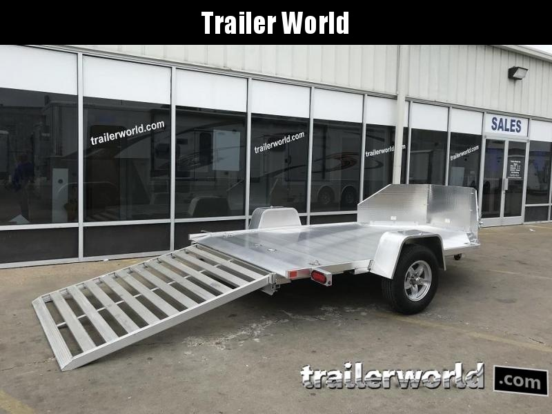 2020 Aluma MC210 Aluminum 2 Place Motorcycle Trailer