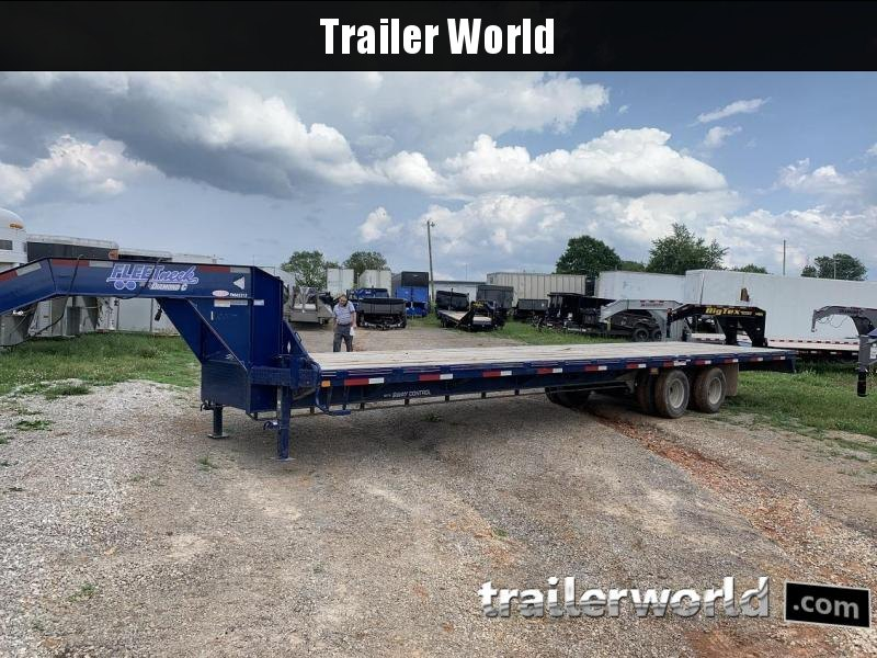 2015 Diamond C Fleetneck FMAX212 34' Gooseneck Flatbed Equipment Trailer