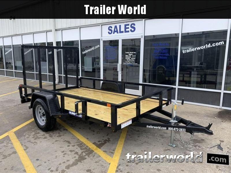 2020 Sure-Trac 6 X 10 Tube Top Utility Trailer