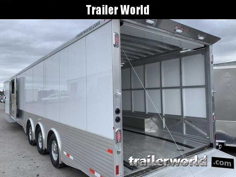 2020 Sundowner 48' Aluminum 2 Car Enclosed Gooseneck Car Trailer