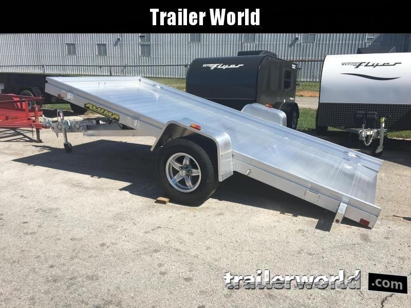 2018 Aluma 6812H 12' Tilt Aluminum Utility Trailer