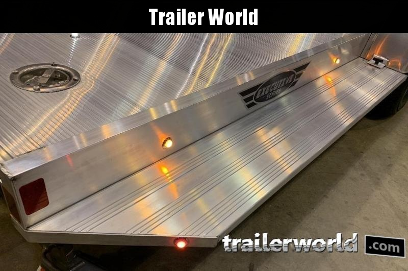 2020 Aluma 8222H XL Executive Aluminum Open Car Trailer