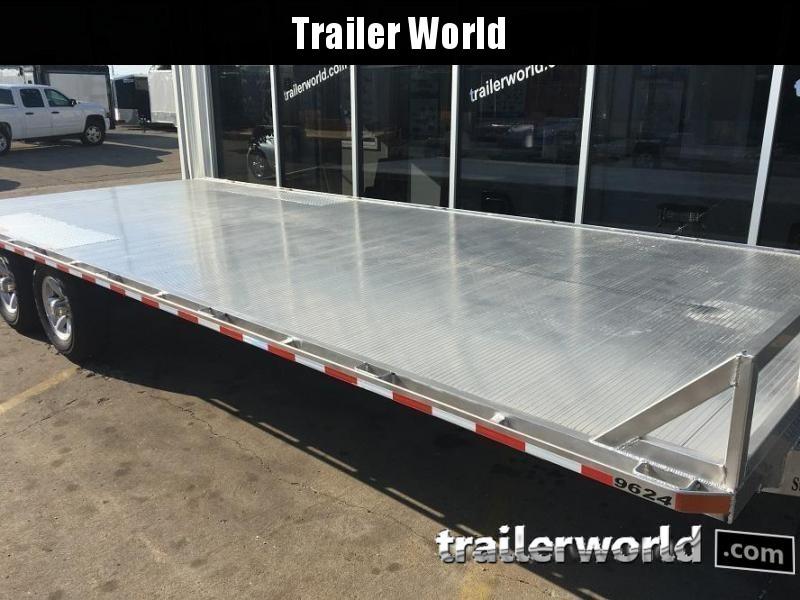 2019 Sundowner 24' Aluminum Deck -Over Trailer