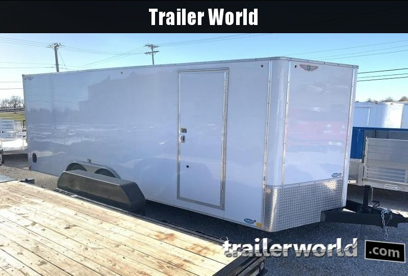 2019 H and H Trailer 20' Enclosed Car Trailer
