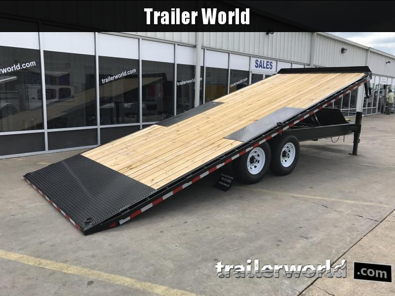 2020 Sure-Trac 22' Deck Over Tilt bed Gooseneck Equipment Trailer
