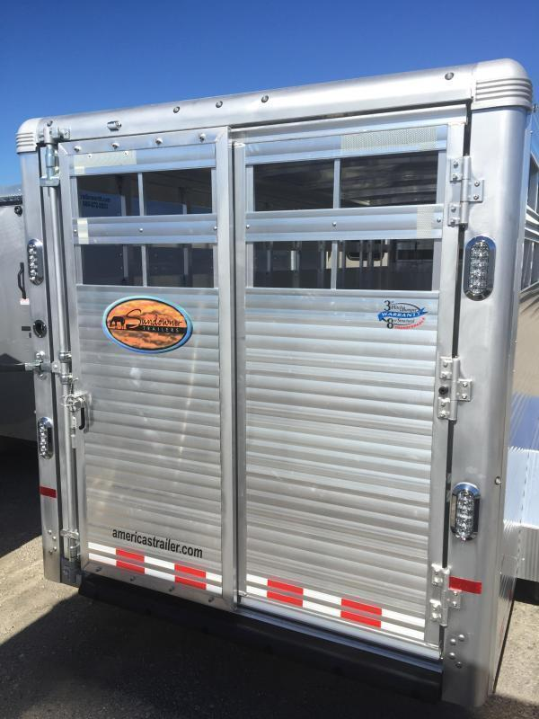 2019 Sundowner Rancher 24' Livestock Trailer 7' Tall