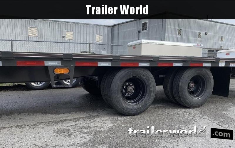 2020 Diamond C FMAX212 32' Gooseneck Flatbed Equipment Trailer 25.9k GVWR