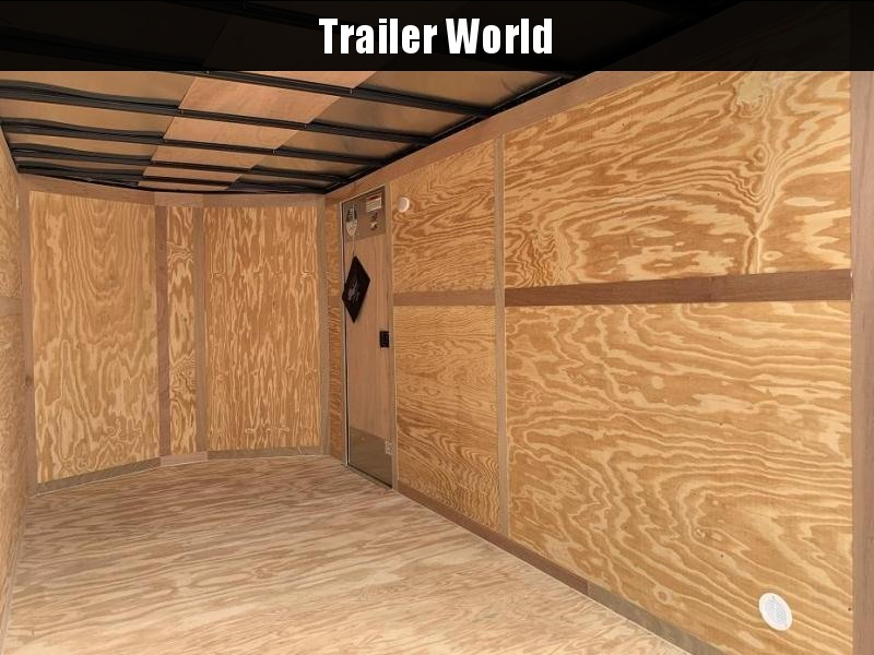 2020 Continental Cargo 7' x 14' x 6.3' Vnose Enclosed Cargo Trailer Double Doors