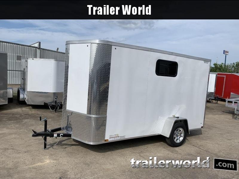2019 Arising 6 x 12 x 7 Enclosed Cargo Trailer w/ Windows