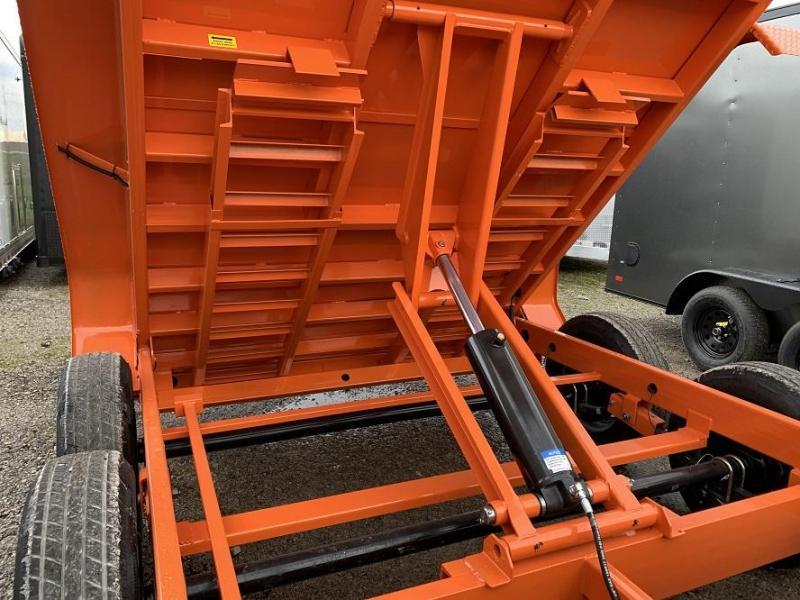 2020 Sure-Trac 82 IN X 12' LProfile 14K Scissor Dump Trailer