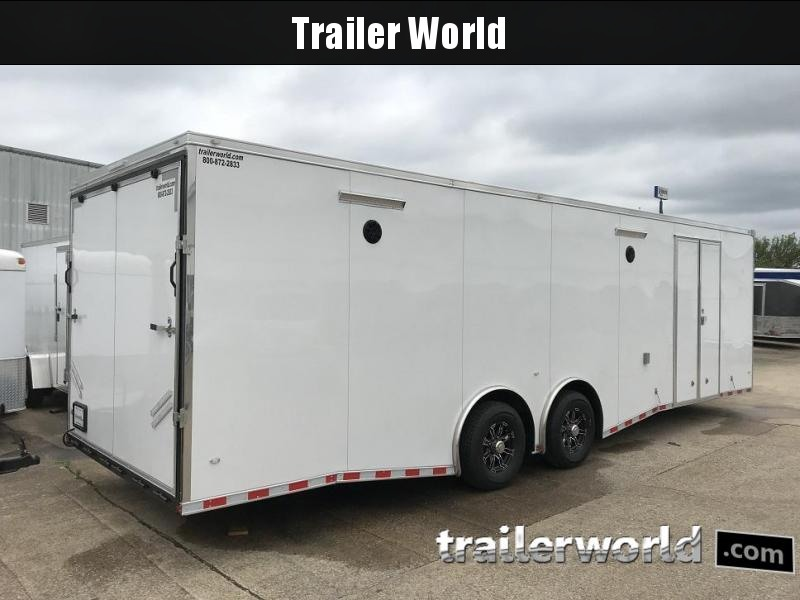 2020 CW 28' Spread Axle Race Trailer 14k GVWR