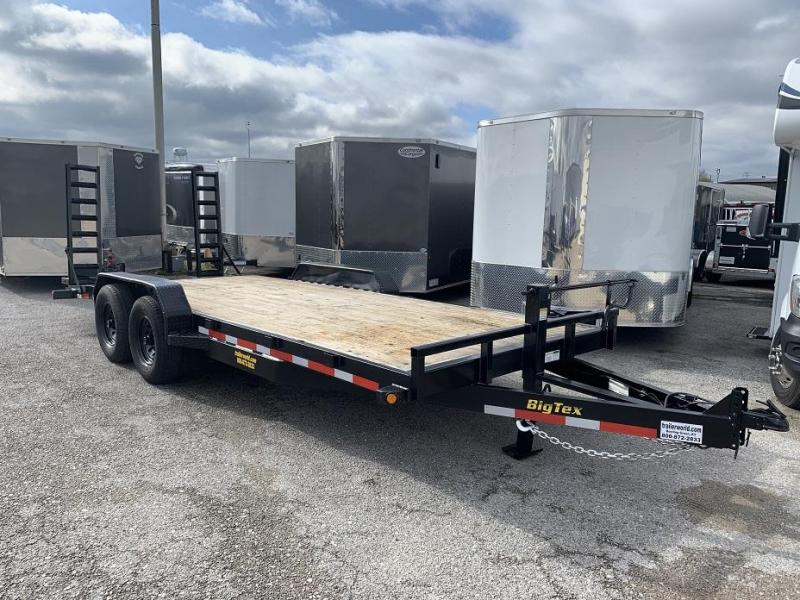 2014 Big Tex 14ET-20'  Flatbed Equipment Trailer  7 Ton