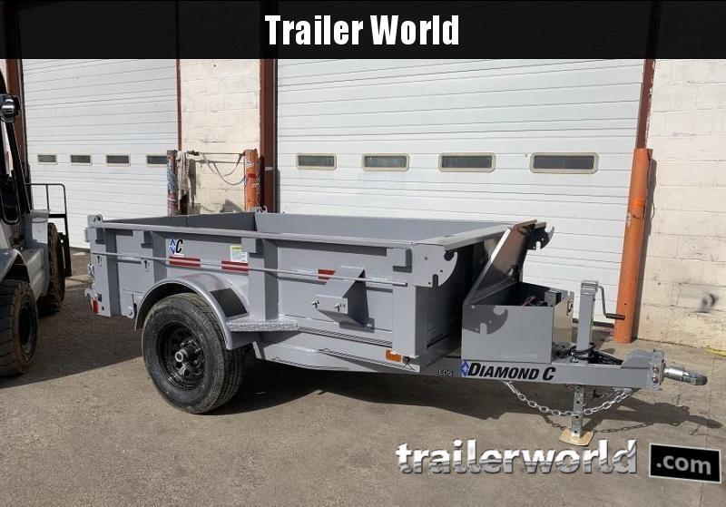 2020 Diamond C Trailers EDS 5 x 8 Dump Trailer