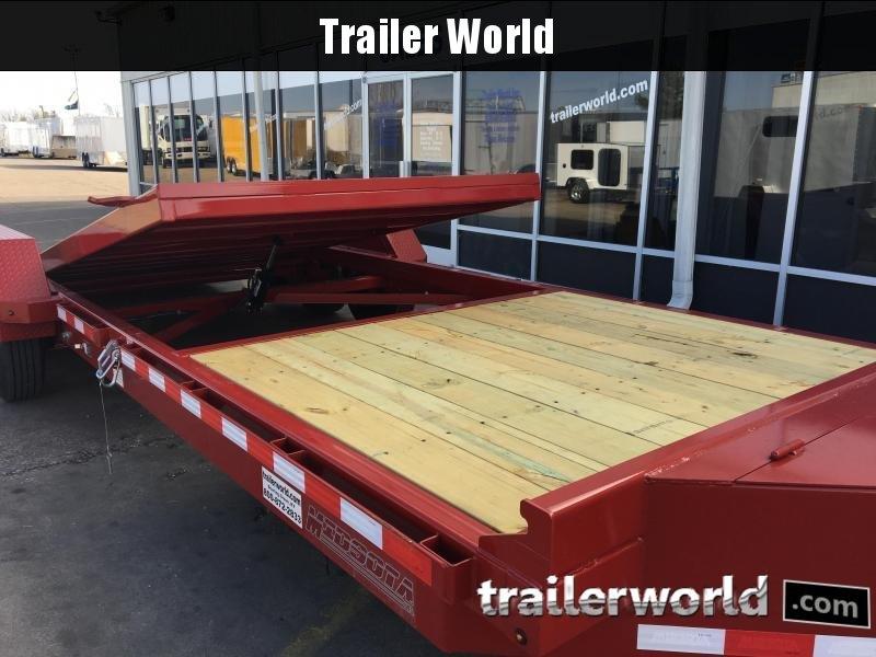 2020 Midsota TB-22' Tilt Bed Equipment Trailer 17.6k GVWR