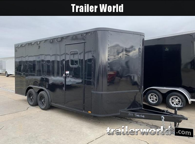 2020 Arising 8.5 x 16 x 7 Enclosed Cargo Trailer w/ Windows