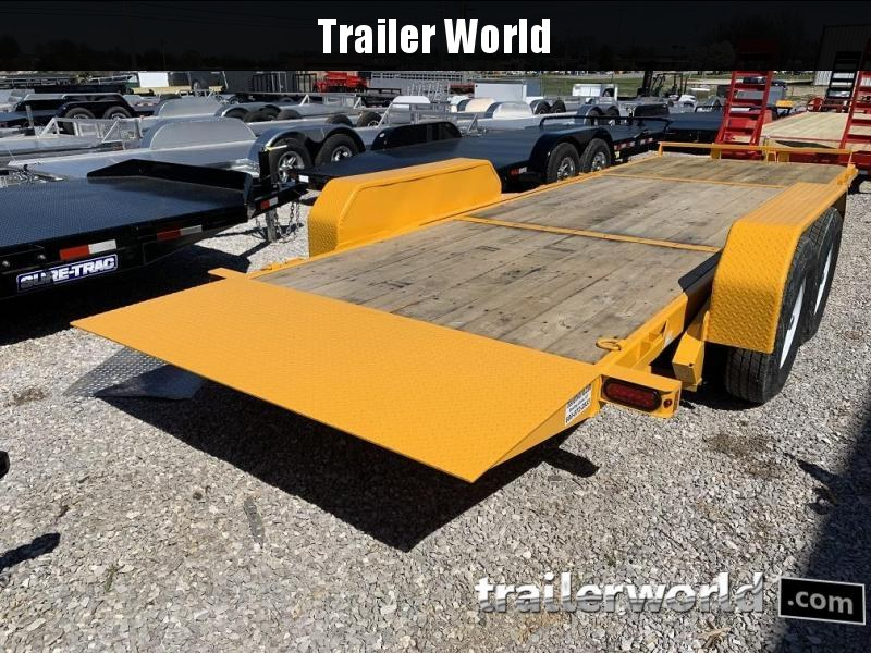 2019 Sure-Trac 16 + 6 Tilt Bed Equipment Trailer 14K GVWR